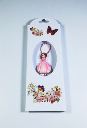 Martisor printesa, Multicolor, 4cm0