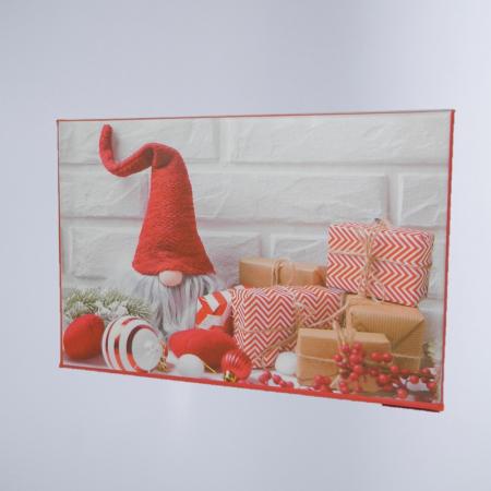 Cutie Cadouri Craciun cu model, Multicolor 16 x 7.5 x 11cm0