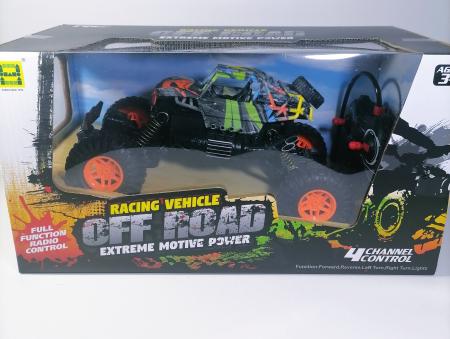 Masina OFF ROAD Cu Telecomanda 4WD 1:18, Multicolor1