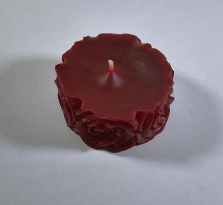 Lumanare decorativa parfumata, rosu, 5 cm [1]