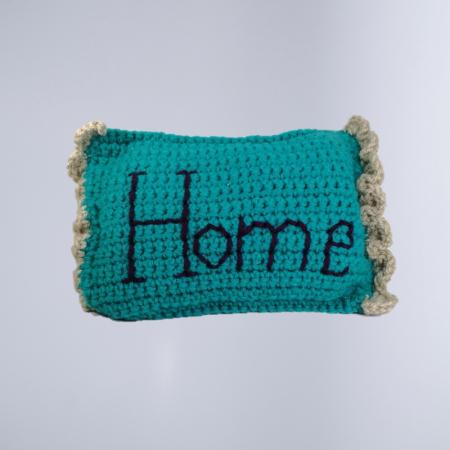 Pernuta crosetata, Home, umpluta cu lavanda0