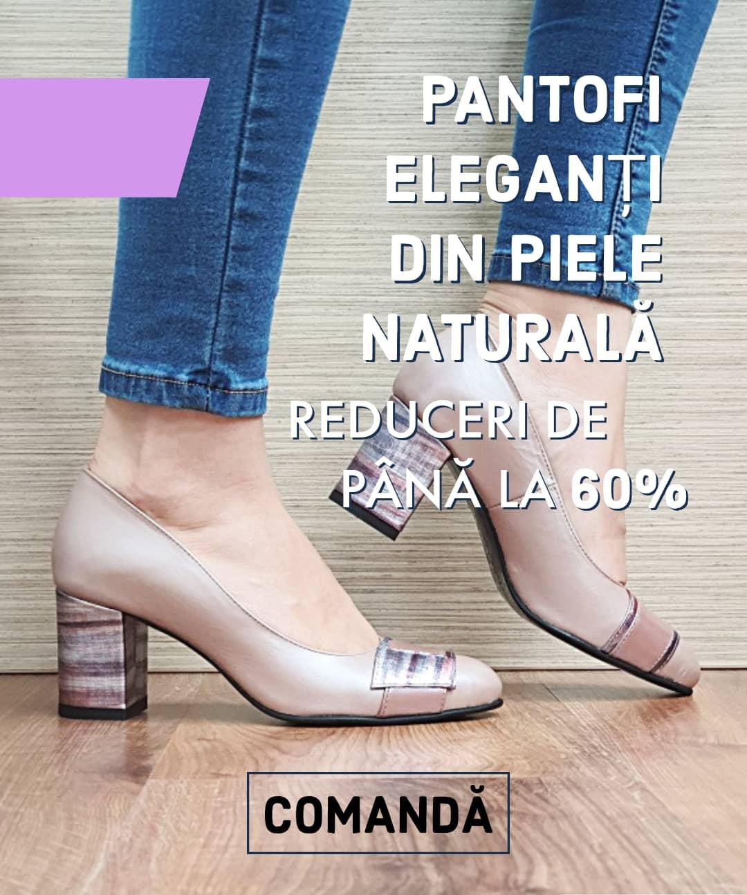 Pantofi Eleganti Octombrie 2020