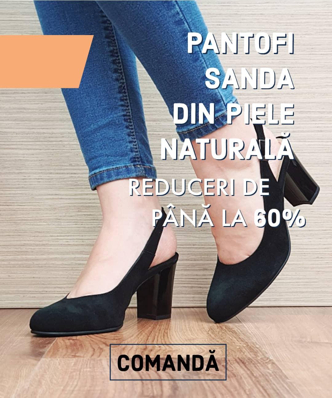 Pantofi Sanda Octombrie 2020
