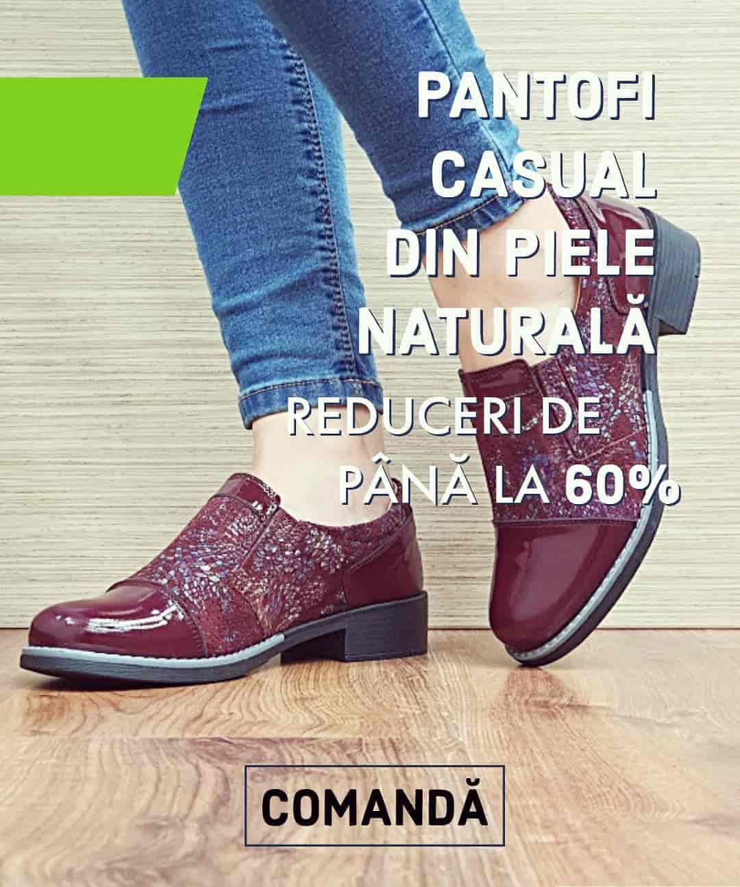 Pantofi Casual Octombrie 2020