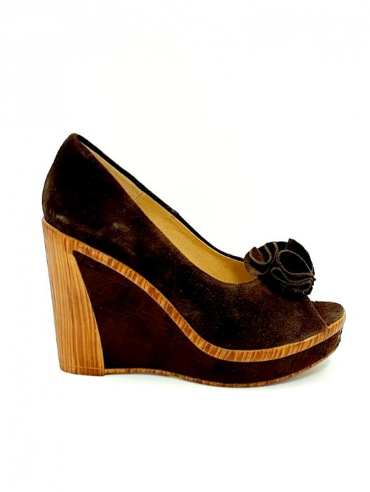 Pantofi Dama Piele Naturala Maro Ileana D02703 0