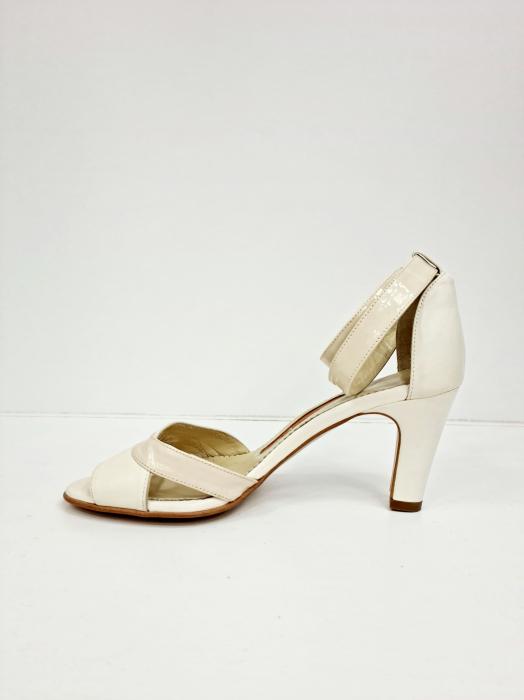Sandale Dama Piele Naturala Bej Guban Noella D02769 [2]