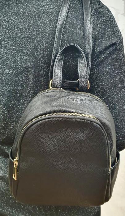 Rucsac Dama Piele Negru Briana G00386 1