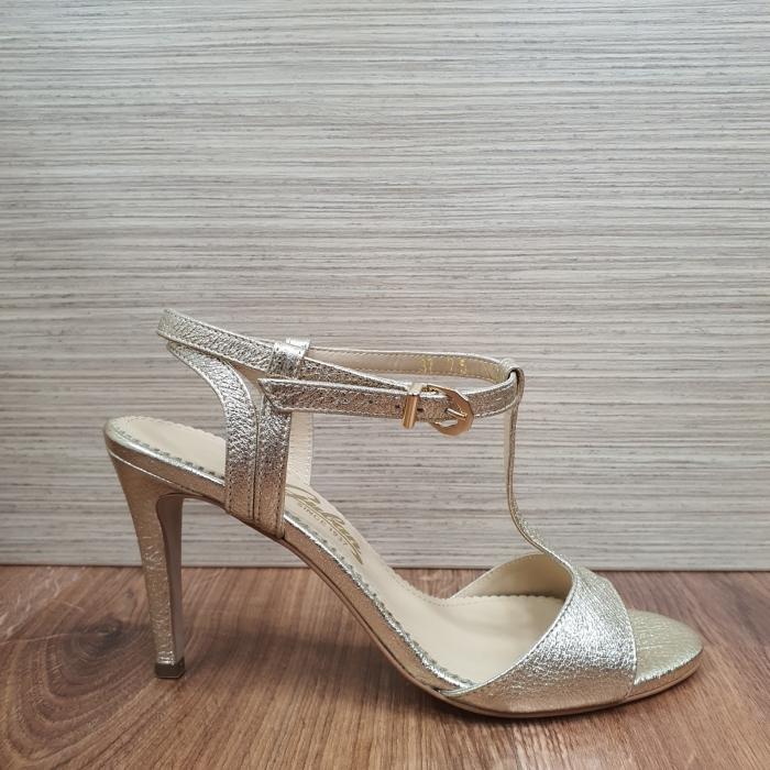 Sandale Piele Naturala Guban Aurii Fifi 1