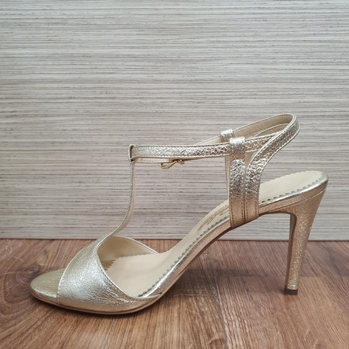 Sandale Piele Naturala Guban Aurii Fifi 2