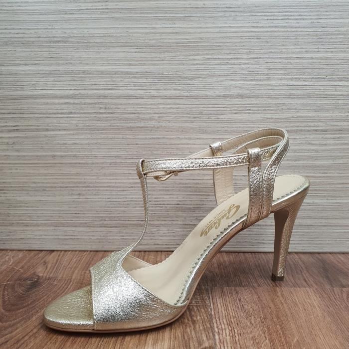 Sandale Piele Naturala Guban Aurii Fifi 3