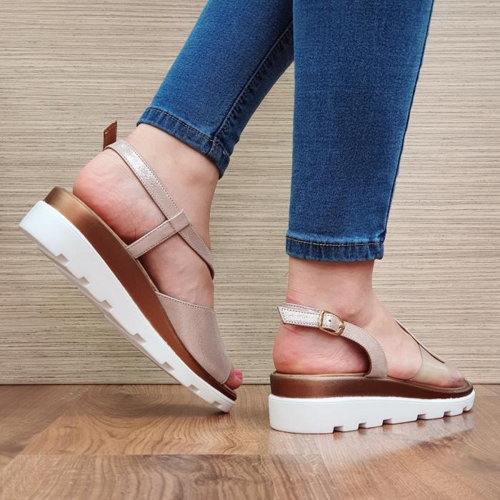Sandale Piele Naturala Nude Aimee 3