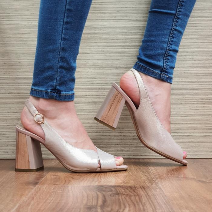Sandale piele Naturala Epica Nude Suren 0