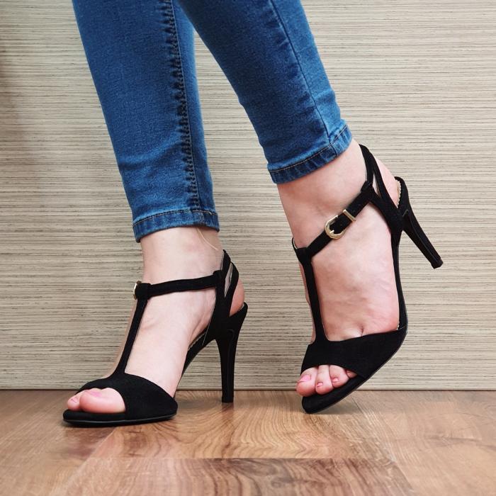 Sandale Piele Naturala Guban Negre Fifi 2