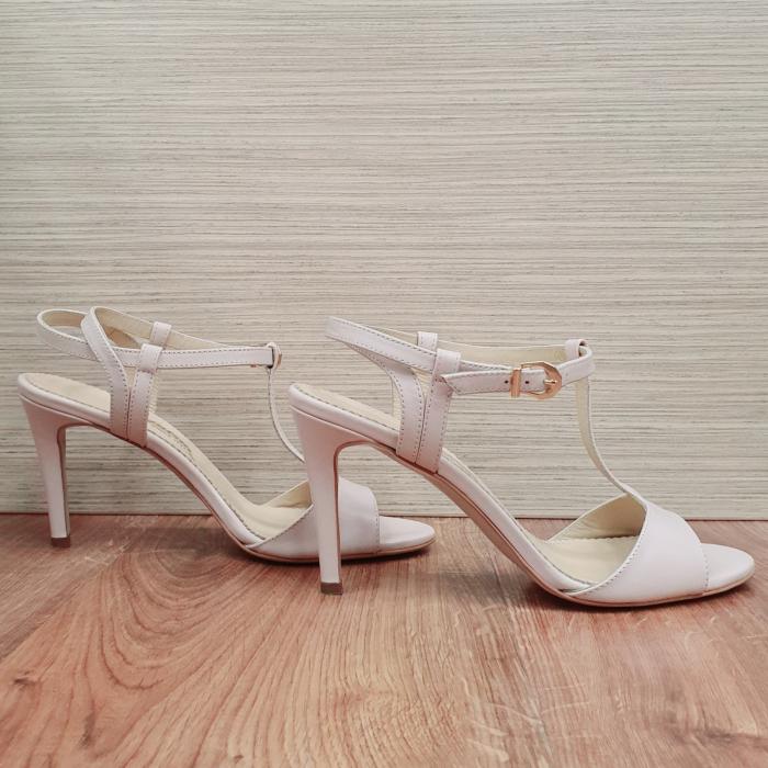 Sandale Piele Naturala Guban Nude Fifi [0]