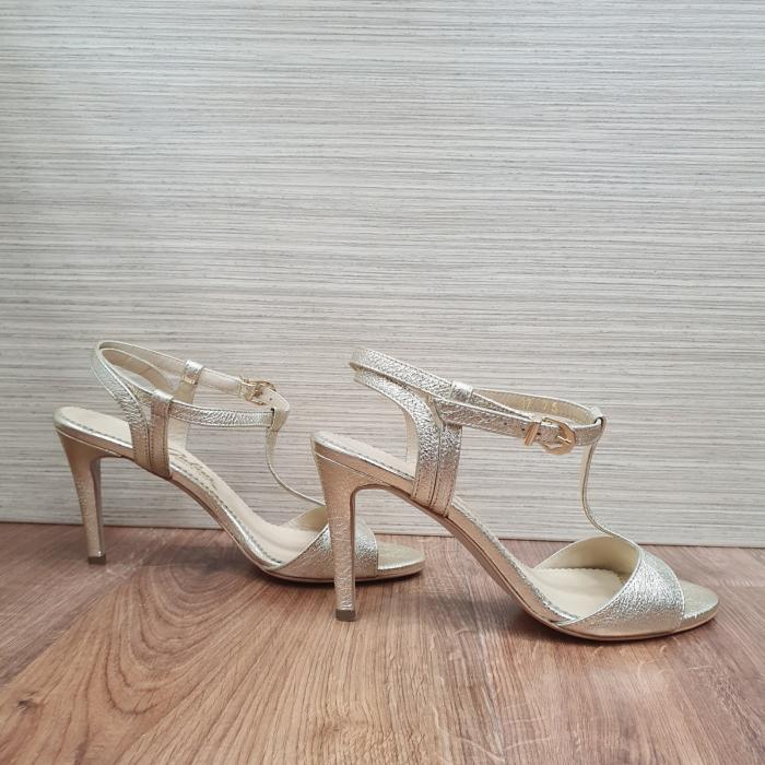 Sandale Piele Naturala Guban Aurii Fifi 0