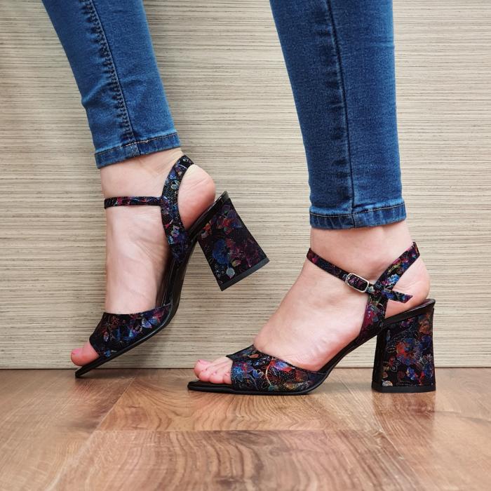 Sandale Piele Naturala Negre Abigail 2