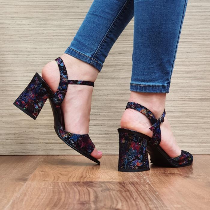 Sandale Piele Naturala Negre Abigail 3