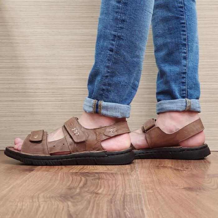 Sandale Barbati Piele Naturala Maro Atanasie B00055 [1]