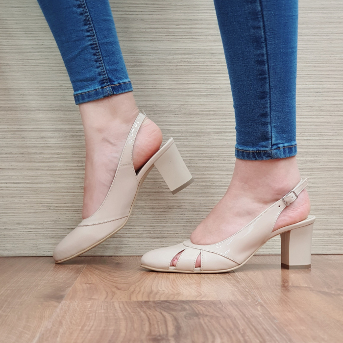 Sandale Piele Naturala Bej Salma [1]