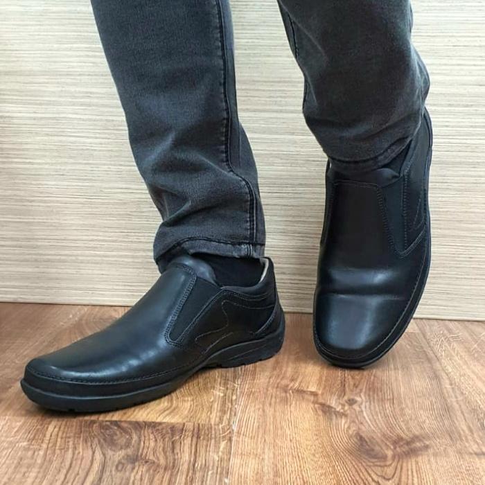 Pantofi Casual Barbati Piele Naturala Negri Anastasis B00059 2