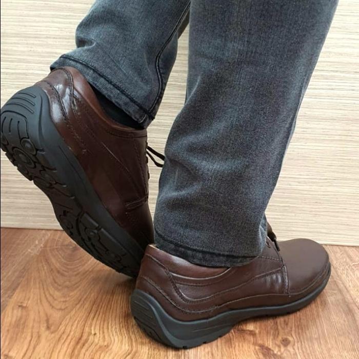 Pantofi Barbati Casual Piele Naturala Maro Iacob B00060 2