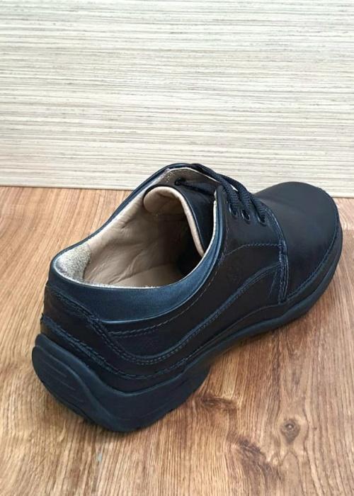Pantofi Barbati Casual Piele Naturala Negri Iacob B00061 6