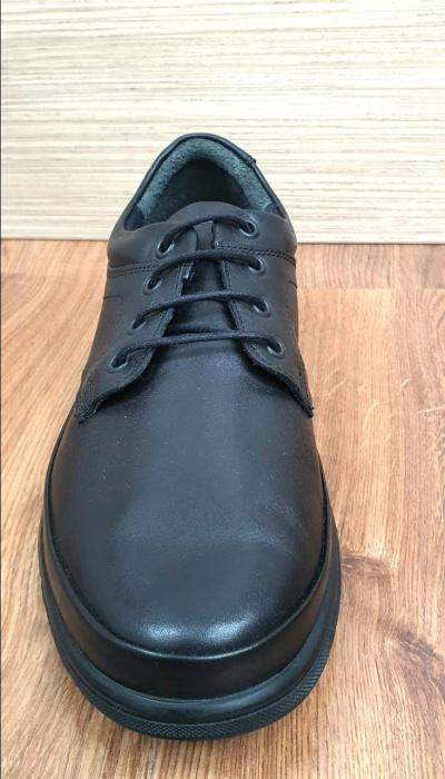 Pantofi Barbati Casual Piele Naturala Negri Albert B00063 6