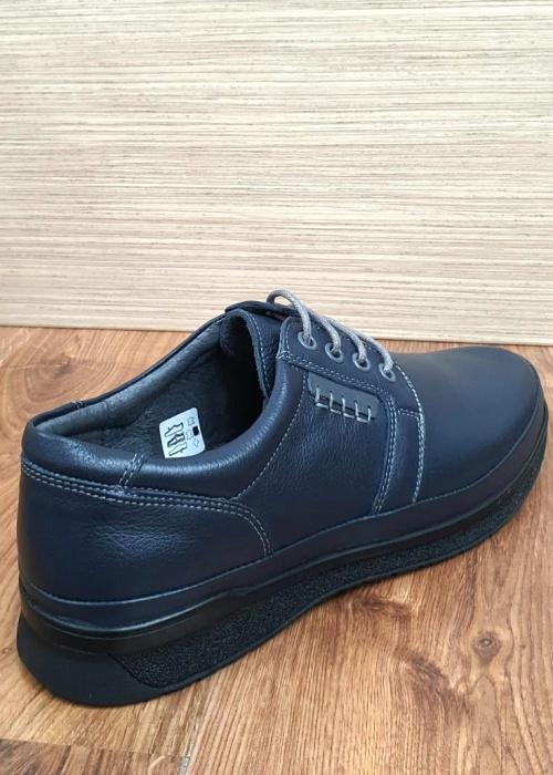 Pantofi Barbati Casual Piele Naturala Bleumarin Alexe B00064 6
