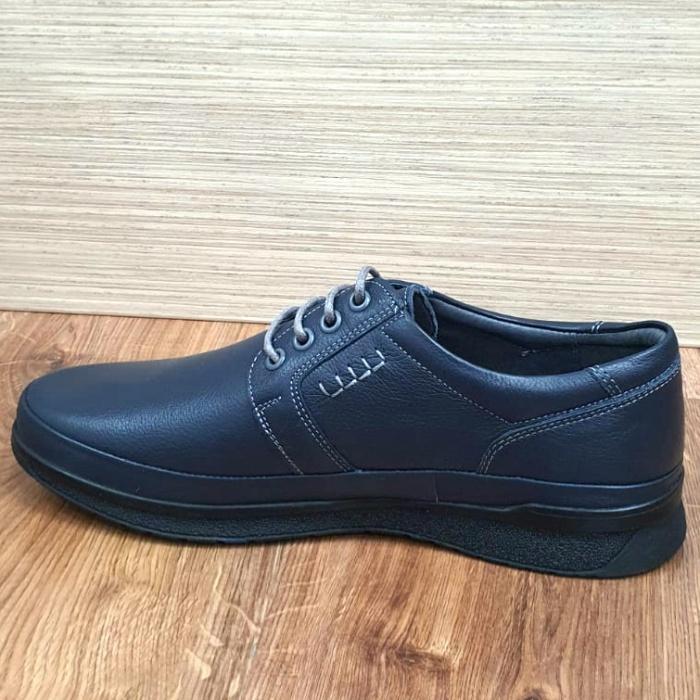 Pantofi Barbati Casual Piele Naturala Bleumarin Alexe B00064 5