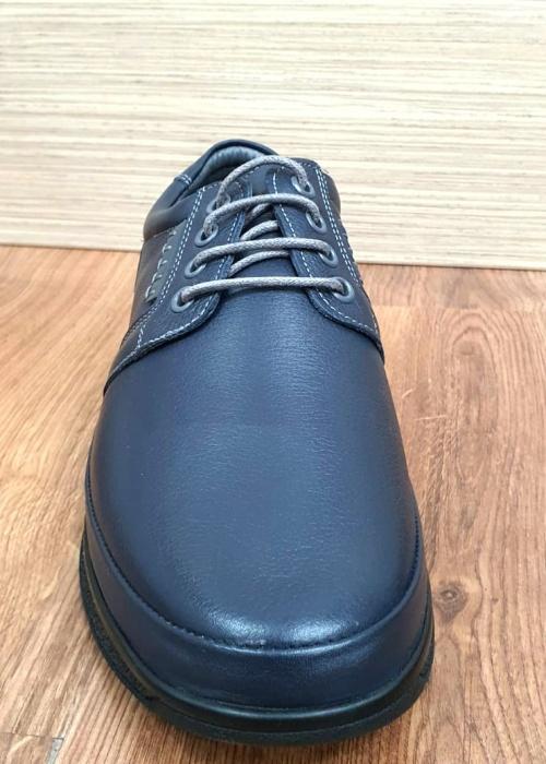 Pantofi Barbati Casual Piele Naturala Bleumarin Alexe B00064 7