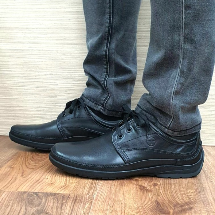 Pantofi Barbati Casual Piele Naturala Negri Iacob B00061 0