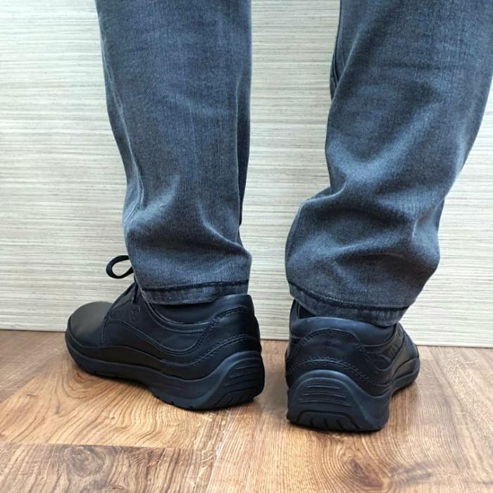 Pantofi Barbati Casual Piele Naturala Negri Iacob B00061 3