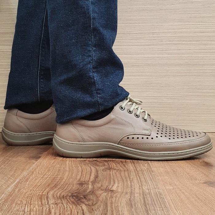 Pantofi Barbati Casual Piele Naturala Maro Ahab B00072 0