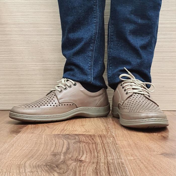 Pantofi Barbati Casual Piele Naturala Maro Ahab B00072 2