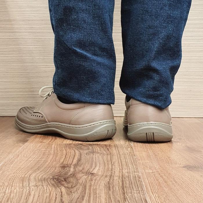 Pantofi Barbati Casual Piele Naturala Maro Ahab B00072 3