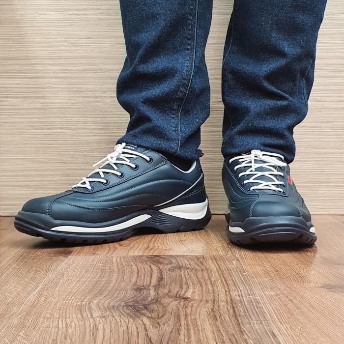 Pantofi Barbati Casual Piele Naturala Bleumarin BIT Beniamin B00074 2