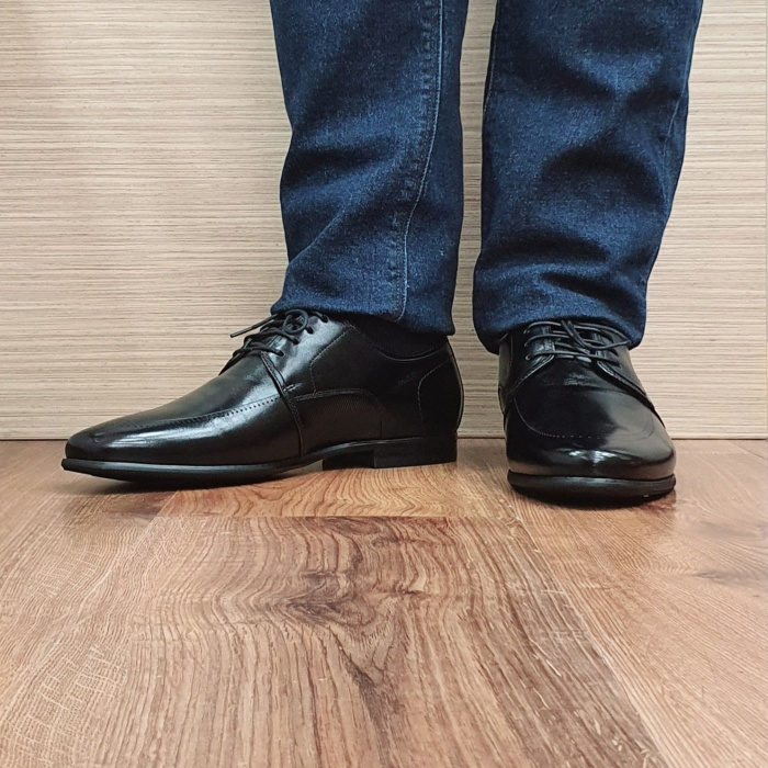 Pantofi Barbati Piele Naturala Negri Achim B00080 2