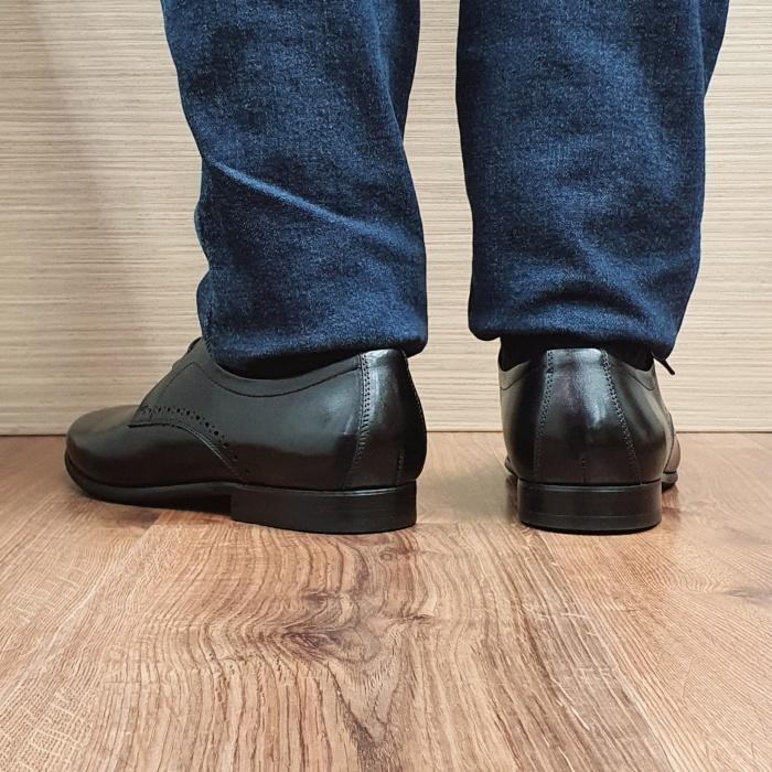 Pantofi Barbati Piele Naturala Negri Cristin B00084 3