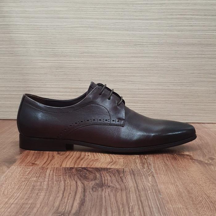 Pantofi Barbati Piele Naturala Maro Cirus B00087 4