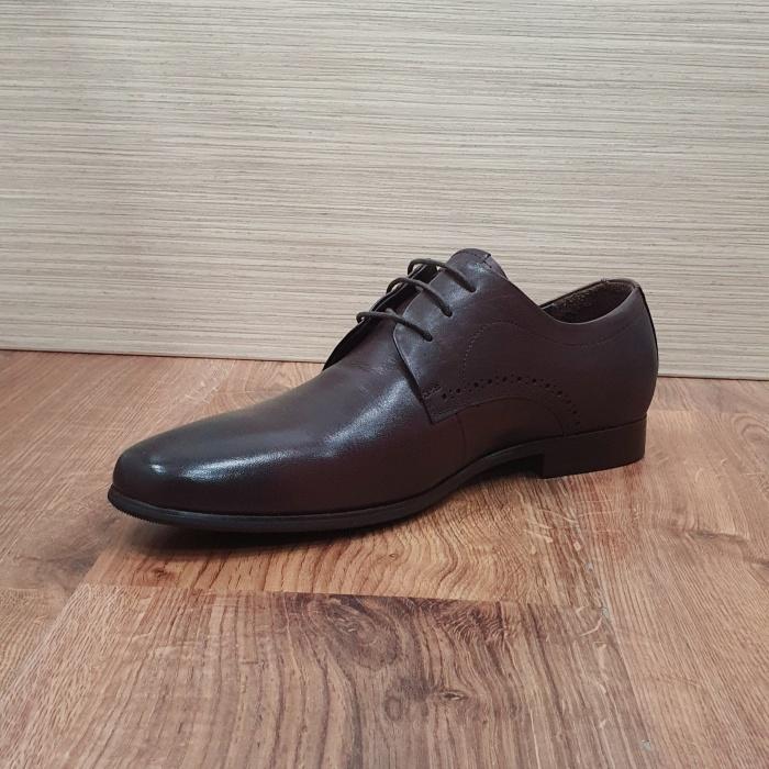 Pantofi Barbati Piele Naturala Maro Cirus B00087 6