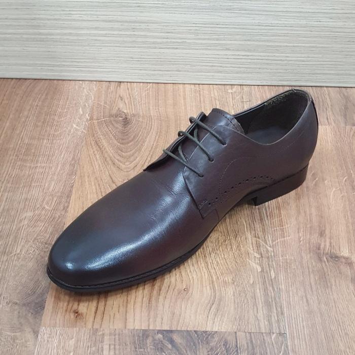 Pantofi Barbati Piele Naturala Maro Cirus B00087 7