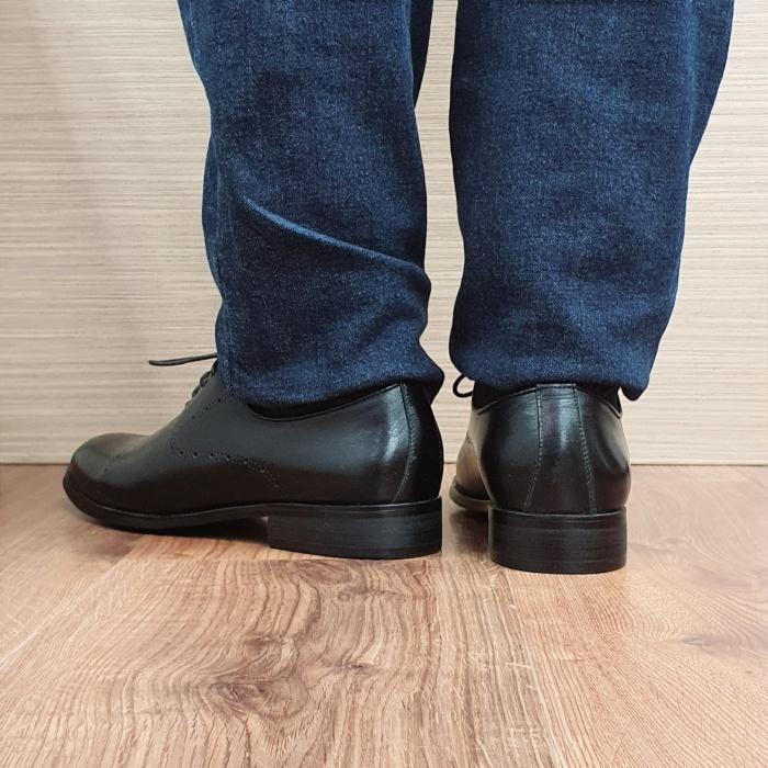Pantofi Barbati Piele Naturala Negri Darius B00088 3