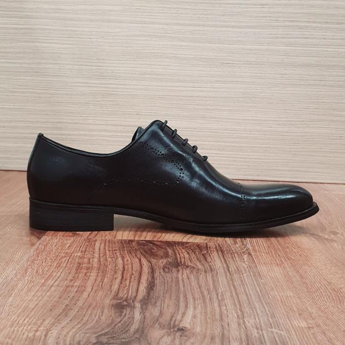 Pantofi Barbati Piele Naturala Negri Darius B00088 4