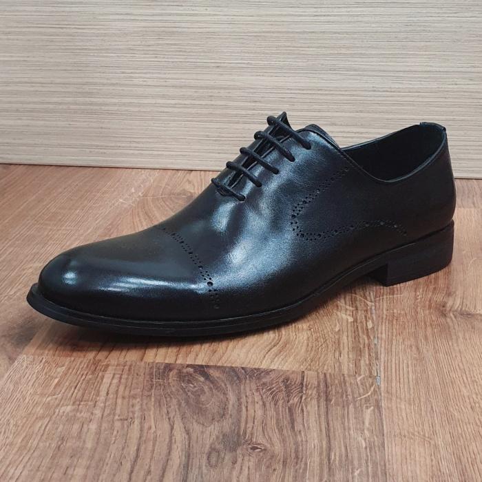 Pantofi Barbati Piele Naturala Negri Darius B00088 5