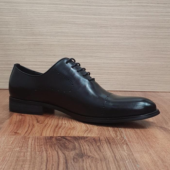 Pantofi Barbati Piele Naturala Negri Darius B00088 6