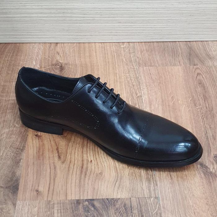 Pantofi Barbati Piele Naturala Negri Darius B00088 7
