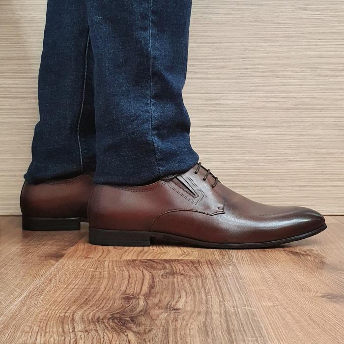 Pantofi Barbati Piele Naturala Maro Aristide B00089 0