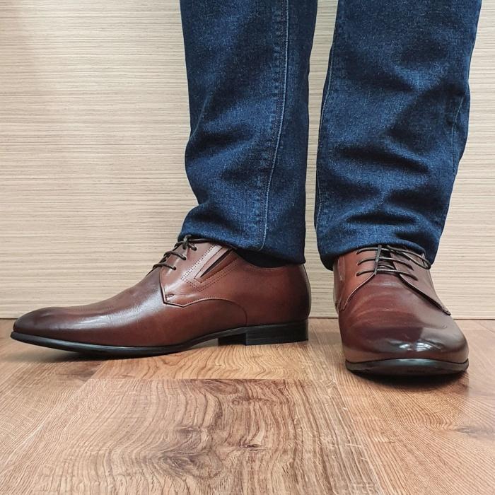 Pantofi Barbati Piele Naturala Maro Aristide B00089 2