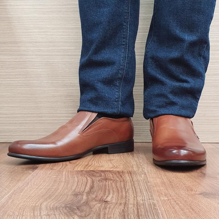 Pantofi Barbati Piele Naturala Maro Ananias B00091 2