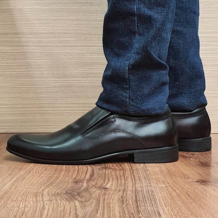 Pantofi Barbati Piele Naturala Negri Ananias B00093 1